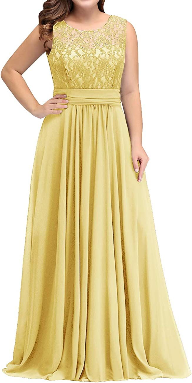 Mother of The Bride Dress Lace Plus Size Mother Dresses Bridal Wedding Party Chiffon