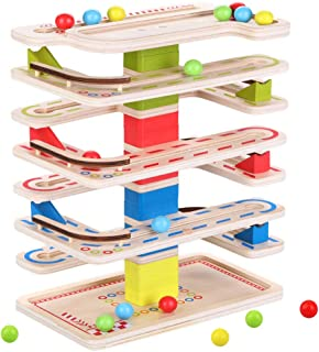 Instruction Manual Building Toys for Kids 26 Complete Pieces SOSSIZOO Marble Run Super Set