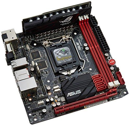 Asus Maximus VI Impact Mainboard Sockel 1150 (ITX, Intel Z87, DDR3 Speicher, SATA III)