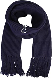 Luxury Fashion | Ami Alexandre Mattiussi Mens H19K600010410 Blue Scarf | Fall Winter 19