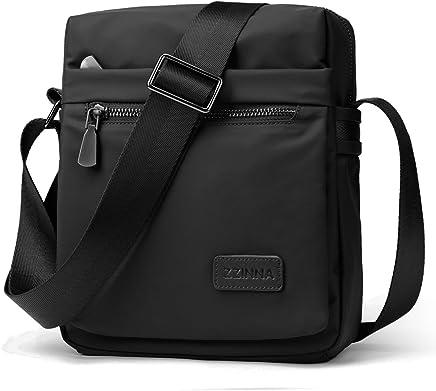 f4d04cbc12de ZZINNA Man Bag Messenger Bag Crossbody Bags Waterproof Shoulder Bag Man  Purse Purses and Bags for