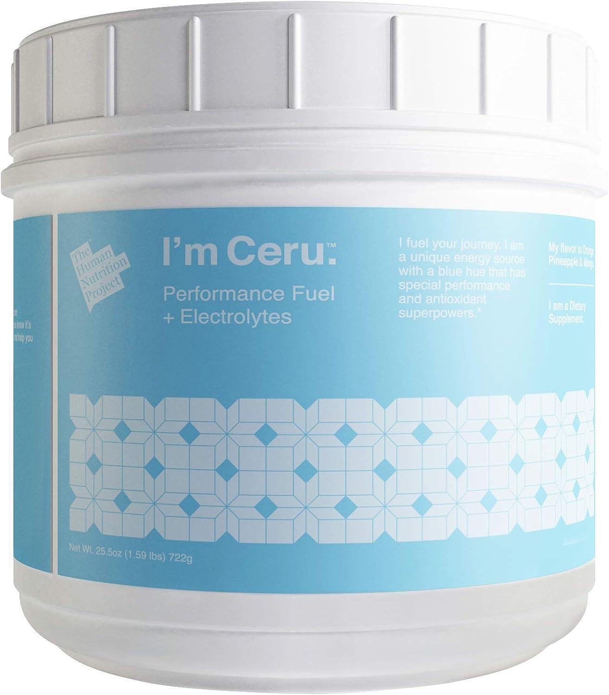 Ceru Organic Pre Workout Endurance Powder Arlington Mall Blue Electrolytes w San Jose Mall