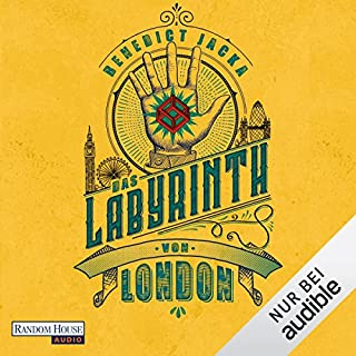 Das Labyrinth von London (Alex Verus 1) Titelbild