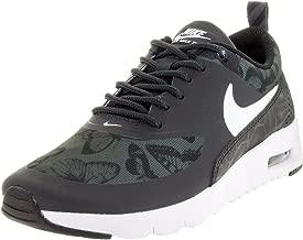 Nike Kids Air Max Thea SE (GS) Running Shoe#820244-001 Black///White