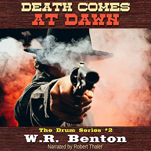 Death Comes at Dawn audiobook cover art