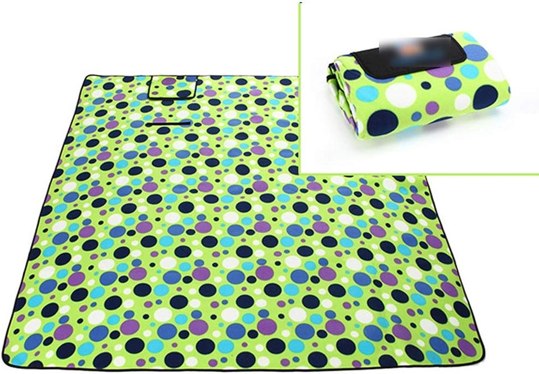 Jakiload Picknick-Decke - Water-Resistant Outdoor-Decke - Große, übergroße Sandproof Beach Beach Beach Mat (Farbe   Grün Circle) B07L3R3FZT  Umweltfreundlich a79528