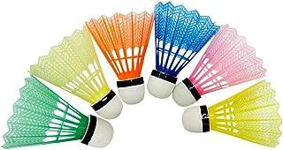 Shuttlecock - Multicolor 6pcs Training Exercise Nylon Foam ball head Shuttlecocks Nylon Badminton Ball Game Sport stability Lowest Price 726