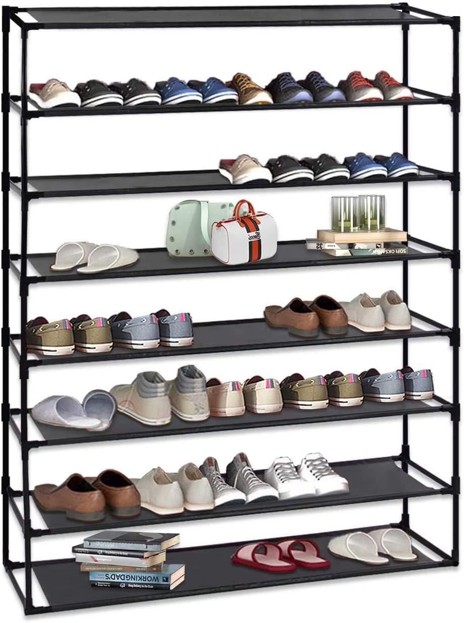 8 Tier Shoe Rack Overseas parallel import regular item Detachable Utility Non-Woven Waterproof Cheap SALE Start Or