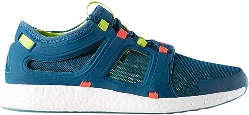 Adidas CC Rocket m-M, Chaussures de Course pour Homme Shock bleu Equipment bleu Solar rouge