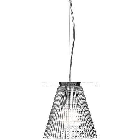 Kartell Light-Air, Lampe de Suspension Version Ciselée, Cristal
