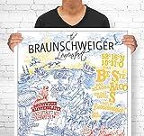 Lieferlokal Stadtposter Braunschweig in limitierter Auflage