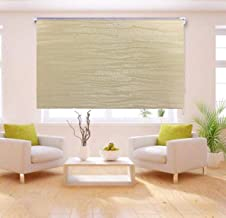 Curtains roll solid white insulator sun and heat