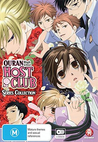 Ouran High School Host Club Series Collection   4 Discs   Anime & Manga   NON-USA Format   PAL   Region 4 Import - Australia