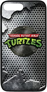 Personalized iPhone 7Plus Hard Shell TPU Rubber Coated Phone Case Cover for iPhone 7 Plus - TMNT Teenage Mutant Ninja Turtles -i7P751