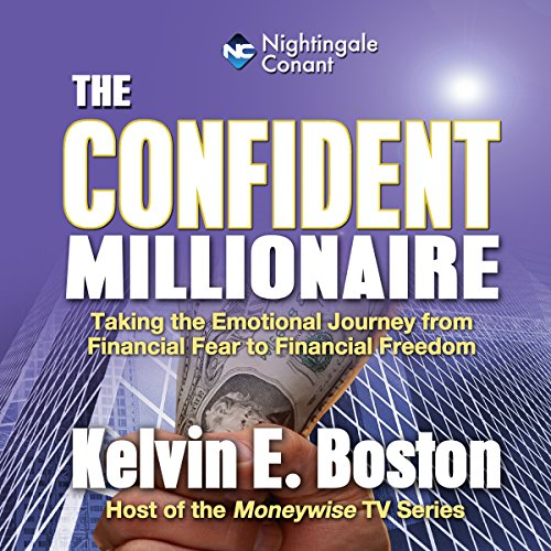 The Confident Millionaire audiobook cover art