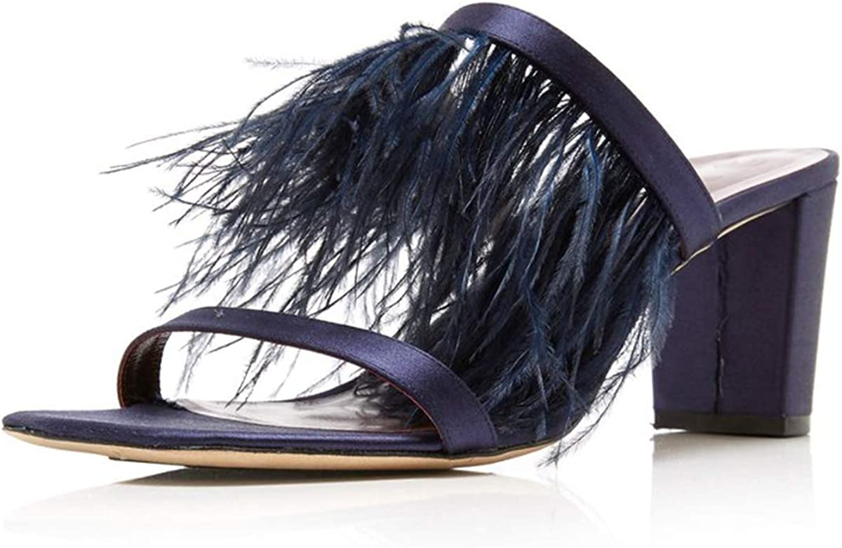 FSJ price Women Sexy Fashion Heeled Mules Sq Sale SALE% OFF with Tassels Open Fringed