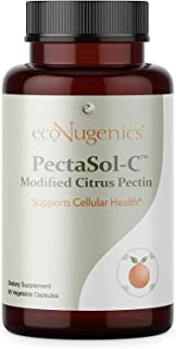EcoNugenics - PectaSol-C Modified Citrus Pectin - 90 Capsules - Cellular Health & Immune System Supplement ...