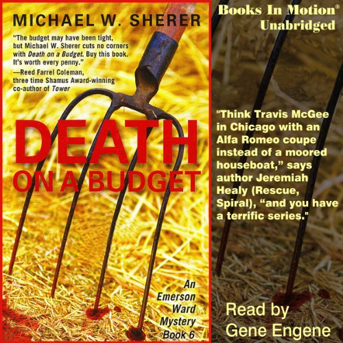 Death on a Budget audiobook cover art