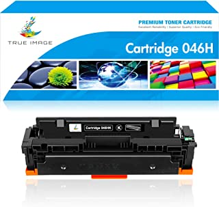 True Image Compatible Toner Cartridge Replacement for Canon 046 046H MF733 Color ImageCLASS MF733Cdw MF731Cdw MF735Cdw LBP654Cdw Printer Ink (Black, 1-Pack)