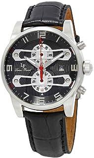 Lucien Piccard Men's LP-40045-014 Bosporus Analog Display Quartz Black Watch