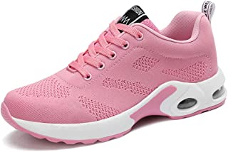 Women Running Shoes Lightweight Air Cushion Sport Sneakers Walking Athletic