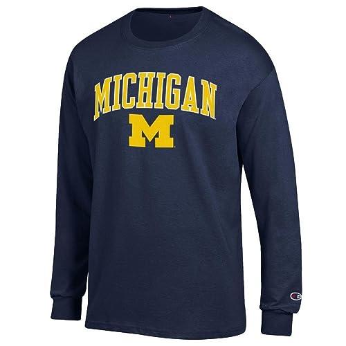 6118dd5d67617 Elite Fan Shop NCAA Men s Team Color Long Sleeve Shirt