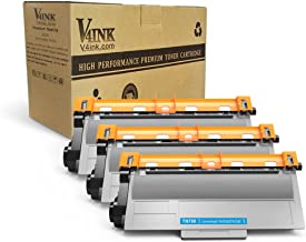 V4INK 3PK Compatible Toner Cartridge Replacement for Brother TN750 TN720 High Yield Toner Cartridge for Brother hl-5470dw hl-5470dwt mfc-8710dw mfc-8950dw mfc-8910dw dcp-8110dn dcp-8150dn Printer