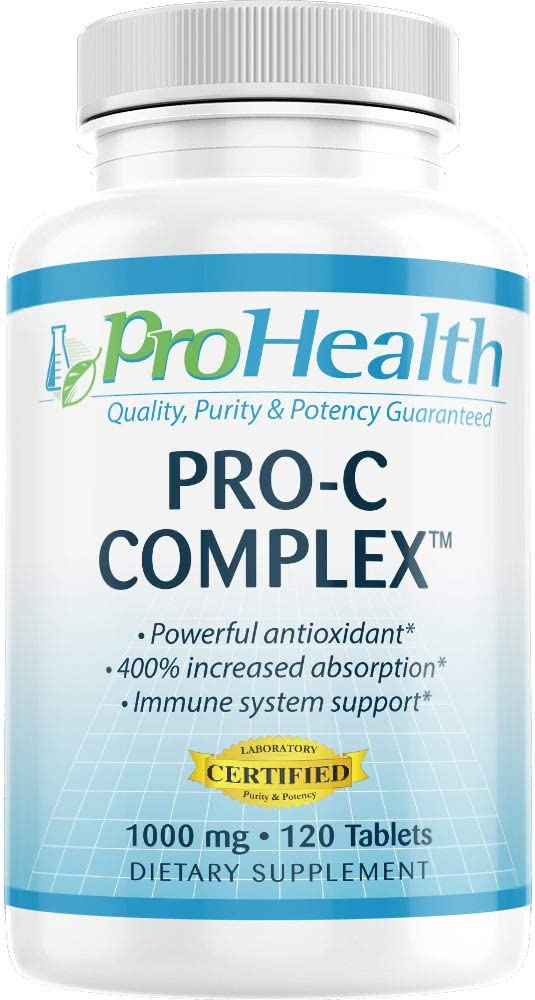 ProHealth Pro-C Super special price Tucson Mall Complex™ 1000 mg 120 Vitamin with C Tablets