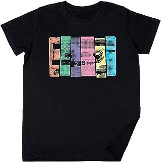 Vendax Mezcla Cinta 10 Niños Chicos Chicas Unisexo Camiseta Negro