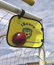 Pop-up Portable Soccer Shooting and Training Target - Soccer Practice Equipment -Solo Soccer Trainer Attach to Soccer Net. Soccer Accessories -Football Target 2 Piece Set + Bag. Fits any size Goalpost
