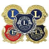 Immagine 1 lions logo autoadesivo badge emblem