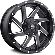 FUEL Renegade NBD-Matte BLK MIL Wheel with Painted (20 x 9. inches /6 x 135 mm, -18 mm Offset)
