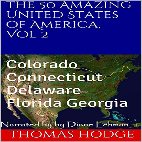 The 50 Amazing United States of America, Volume 2 audiobook cover art