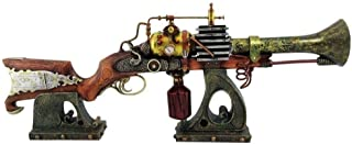 Ebros Annialator Mark 2 Steampunk Model Display Rifle Gun Figurine with Display Stand Ionizer Blaster Disruptor Prototype Weapon Decor 29