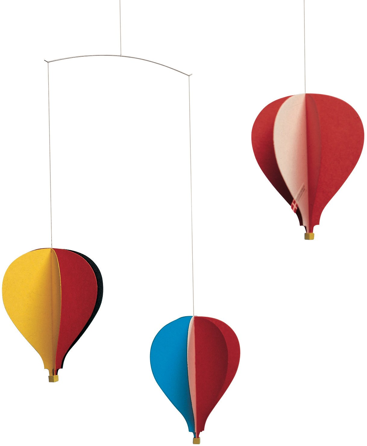 Free Shipping New Balloon 3 Hanging Nursery Mobile - in Handmade Denma Gorgeous Inches 18