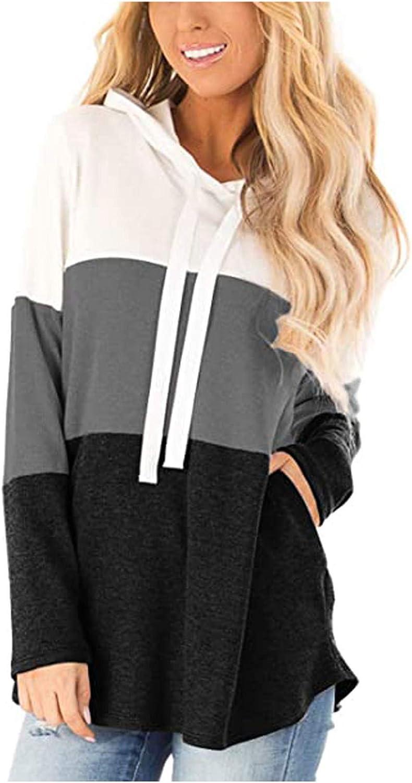 Women Striped Hoodies Long Sleeve Loose Japan Maker New Selling Pocket Hood Sweatshirt P
