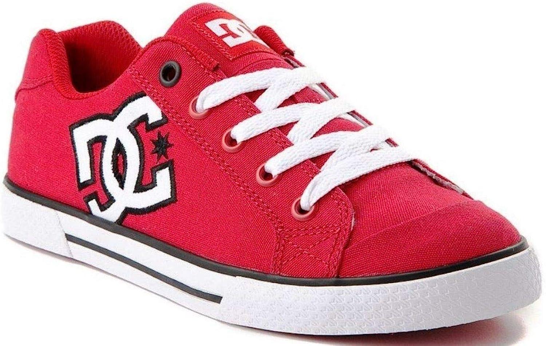 DC Chelsea TX J Rot Weib Damen Rochen Trainers Schuhe
