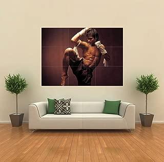 Doppelganger33 LTD ONG BAK Muay Thai Warrior New Giant Poster Kunst NEU X1387