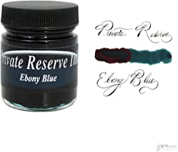 Private Reserve 66 ml Bottle Fountain Pen Ink, Ebony Blue