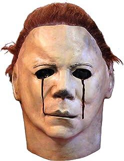 REV Máscara Oficial de Michael Myers Lágrimas de Sangre Clásica, Máscaras de Película de Halloween Ideal para Disfraz Cole...