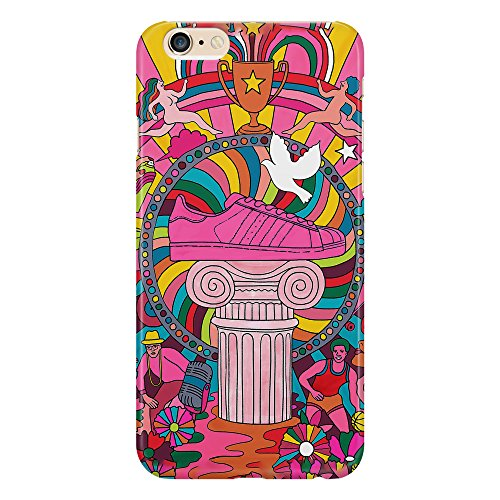 Funda protectora Fashion Shoes Colorful Design Illustration Crazy Case compatible con iPhone 4/4S/5/5S/5SE/5C/6/6S/6plus/6S Plus Samsung S3/S3neo/S4/S4mini/S5/S5mini/S6/Note
