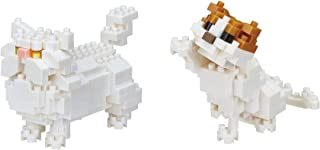 Nanoblocks - 2 Cat Sets - Persian Cat and Scottish Fold Sets - Bundled Sets (Japan Import)