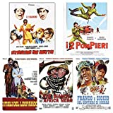 Franco e Ciccio collection ( 5 dvd I 2 pompieri - I figli del leopardo- Franco e ciccio sul sentiero di guerra- 2 bianchi nell'Africa nera-Stasera mi butto)