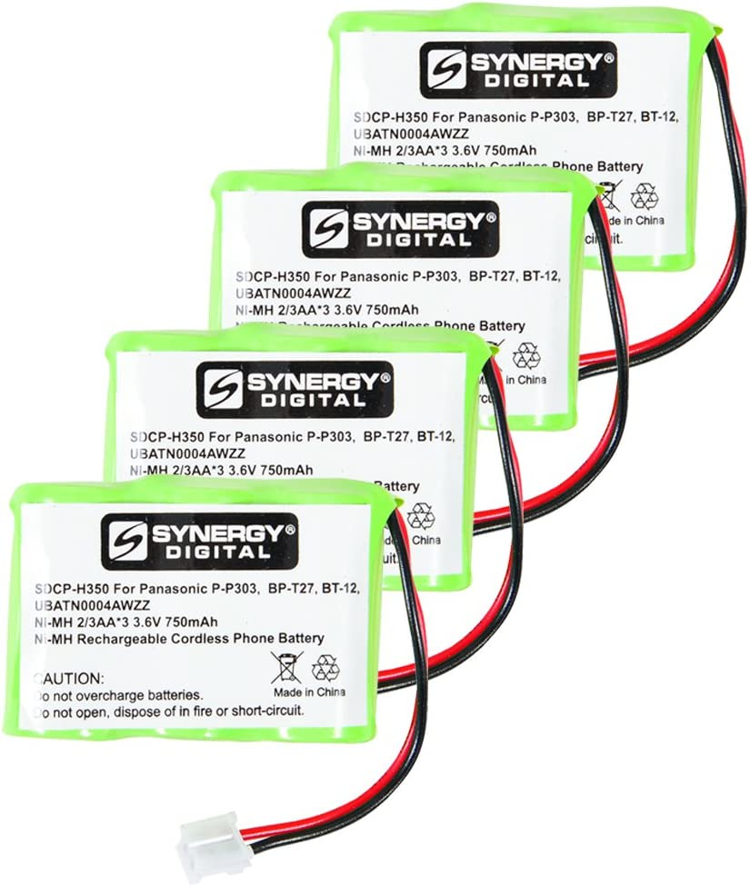 atT-Lucent 7640 Cordless Phone Battery 4 Combo-Pack Beauty Manufacturer direct delivery products x Includes: