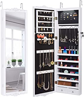 jewelry cabinet for wall