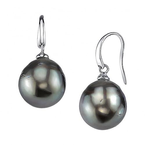 f6ccbbe48a055 Tahitian Pearl Earrings: Amazon.com