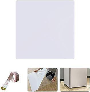 冷蔵庫 マット キズ防止 凹み防止 目盛りシール付き Mサイズ 65×70cm ~ 500Lクラス RZM-M 無色 透明