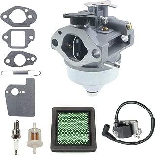 ANTO 16100-Z0Y-853 Carburetor + 16561-ZM0-000 Governor Spring + GCV190 Ignition Coil for Honda GC190 GCV190 GCV190LA Ryobi Pressure Washer Engines