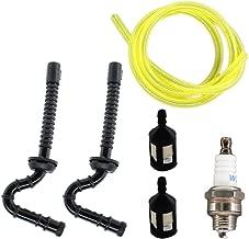 USPEEDA Fuel Line Fuel Filter for Stihl 015 015AV 015L 015R FS150 FS151 Chainsaw Spark Plug
