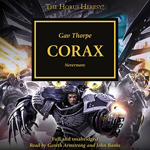 Corax audiobook cover art